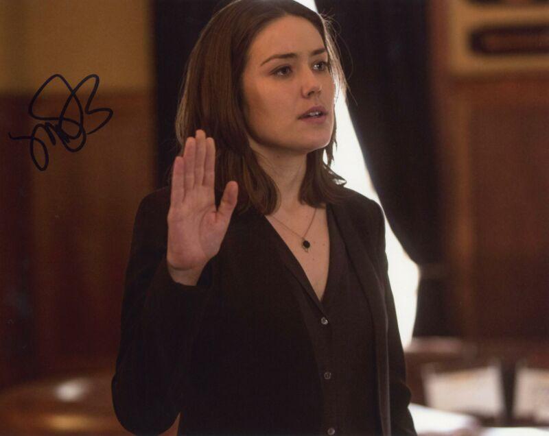 "Megan Boone ""The Blacklist"" AUTOGRAPH Signed 8x10 Photo G ACOA"