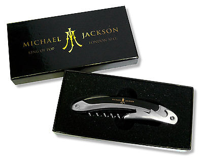 Michael Jackson Wine Opener In Collectible Box New Official London O2 Michael Jackson Collectibles