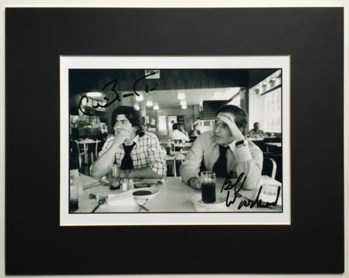 BOB WOODWARD and CARL BERNSTEIN signed autograph photo WATERGATE