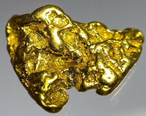 Quality Alaskan Natural Placer Gold Nugget 1.755 grams Free Shipping! #A799