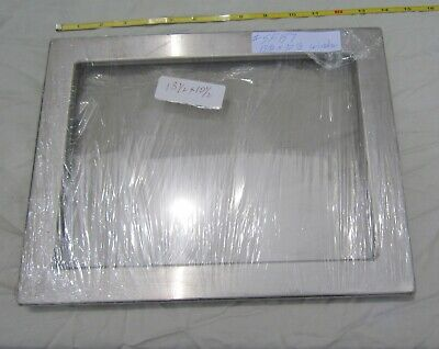 Hoffman Weigman Stainless Steel Window Enclosure Kit Glass 10 12h X 13 12w