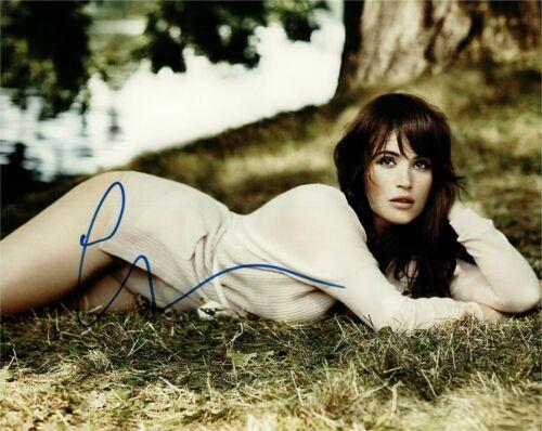Gemma Arterton Sexy Autographed Signed 8x10 Photo COA #2