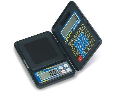 KERN Taschenwaage mit integriertem Taschenrechner bis 150 g | Feinwaage