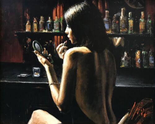 "Fabian Perez ""anna At The Bar"" 2009 