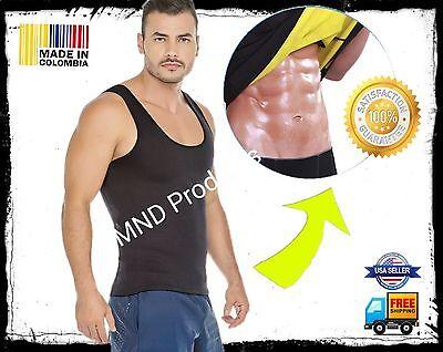 Men Cami body shaper Sauna Faja Neoprene MEDIUM Sweat slimming workout shirt