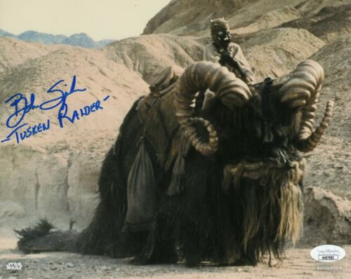 "Bob Spiker Autograph Signed 8x10 Photo - Star Wars ""Tusken Raider"" (JSA COA)"