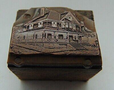 Vintage Printing Letterpress Printers Block Big Ol House