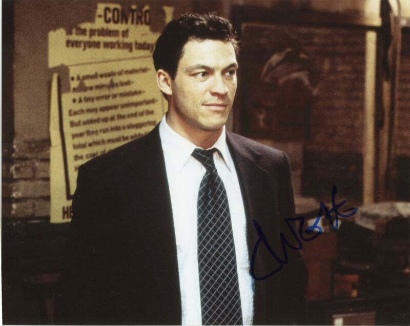 "Dominic West ""The Wire"" AUTOGRAPH Signed 8x10 Photo"