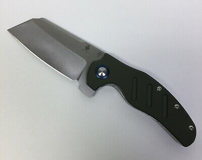 Kizer C01C XL Sheepdog Knife OD Green G10 Handle 154CM Plain Edge V5488C2
