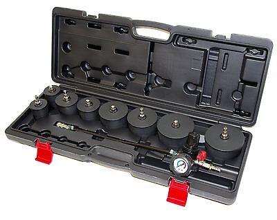 Turbolader Ladeluftkühler abdrücken prüfer tester Werkzeug Turbo Abdrück Satz