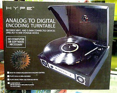 Hype Analog To Digital Encoding Turntable