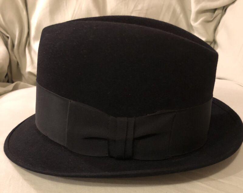 Vintage 60s Royal Stetson 6 7/8 Fedora Hat Very Nice!