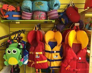 Gilet de flottaison, veste de sauvetage  ,ballon , vfi enfant