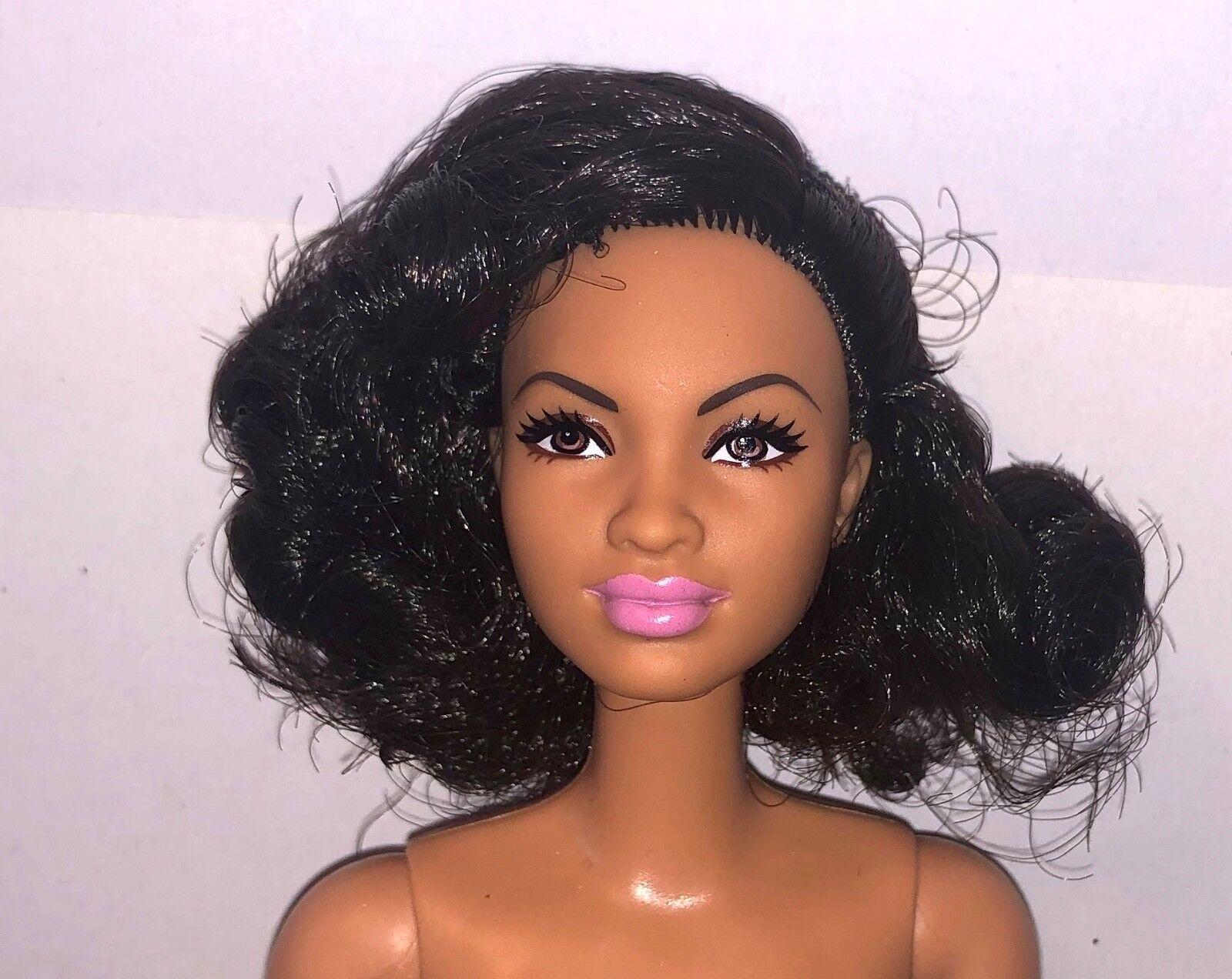 Barbie Inspiring Women Katherine Johnson NUDE Doll African American NEW AA Black