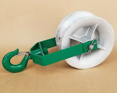 Greenlee 8012 12 Inch 8000 Lbs Sheave For Greenlee Tugger Puller Pulley