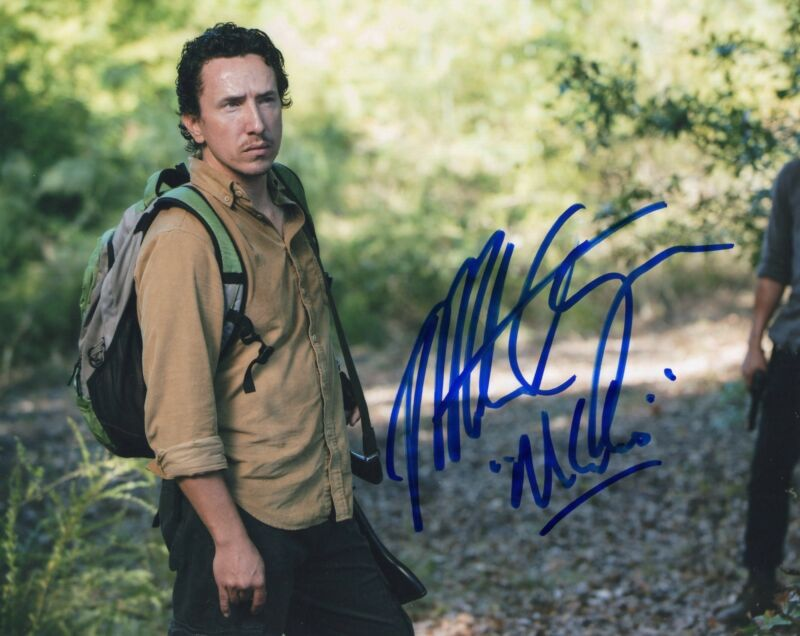 Michael Traynor The Walking Dead Nicholas Signed 8x10 Photo w/COA