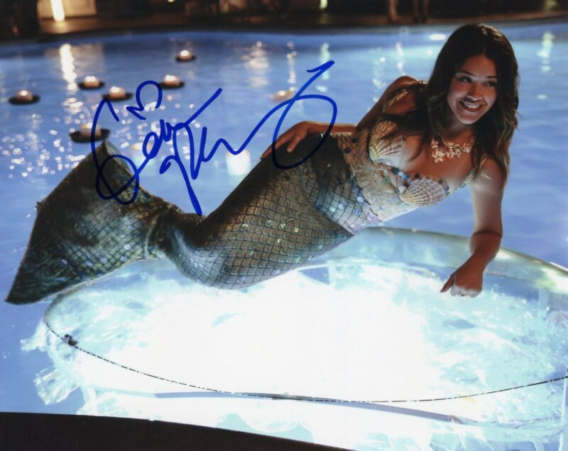 Gina Rodriguez Jane the Virgin Filly Brown Signed 8x10 Photo w/COA #3
