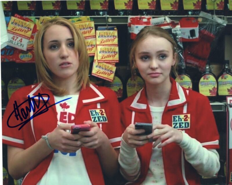 Harley Quinn Smith signed Young Hosers Movie 8x10 Photo w/COA Colleen McKenzie C