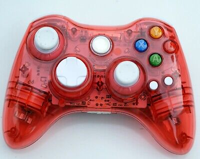 Xbox 360 Wireless Transparent Game Pad Controller for Xbox 360, Windows 10