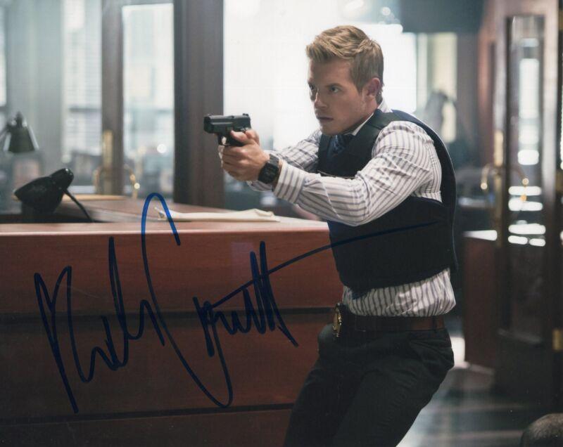 Rick Cosnett The Vampire Diaries Signed 8x10 Photo w/COA #4