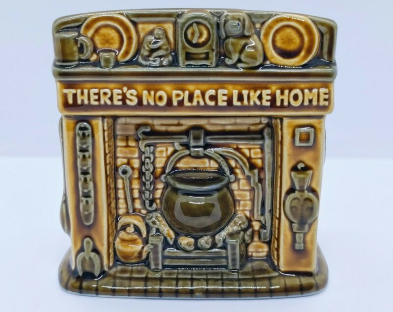 Vintage Zseiler Studio Hand Painted Ceramic Bank Made in England