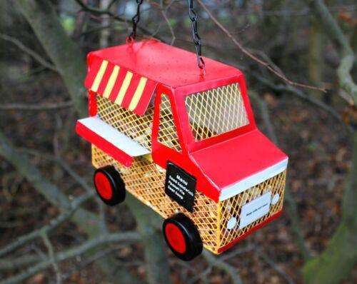 Resin+Food+Truck+Bird+Feeder+Hanging+Garden+Feeding+Station+Outdoor+Wild+Birds