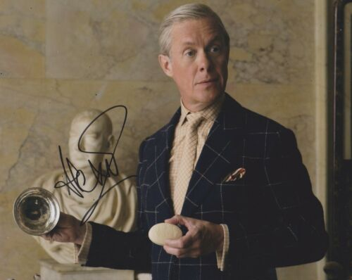 Alex Jennings Signed The Crown 10x8 Photo AFTAL