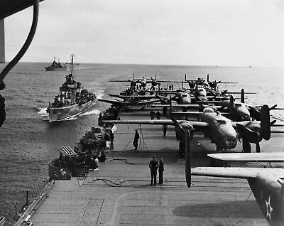 B25 Mitchell Doolittle Raid #102 USAAF Print WW2 WWII 4x6