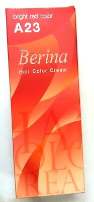 Smart Beauty Hair Dye (New Berina A23 Bright Red Color Change Beautiful Natural HairDye Permanent)