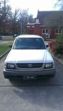 2003 Toyota Hilux Ute Braddon North Canberra Preview
