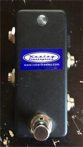 2 channel Keeley true bypass looper à vendre/for sale