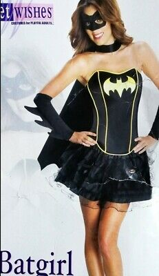 BATGIRL ROCK xs 34 36 s schwarz Fasching - Original Batgirl Kostüme