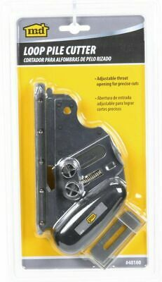 BRAND NEW M-D Loop Pile Carpet Row Cutter with Adjustable Throat Opening -