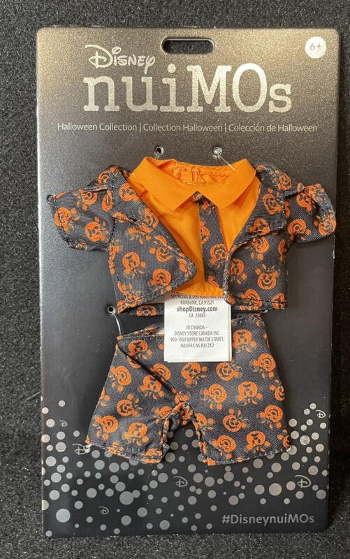 Disney nuiMOs Pumpkin Suit And Tie Set New In Hand