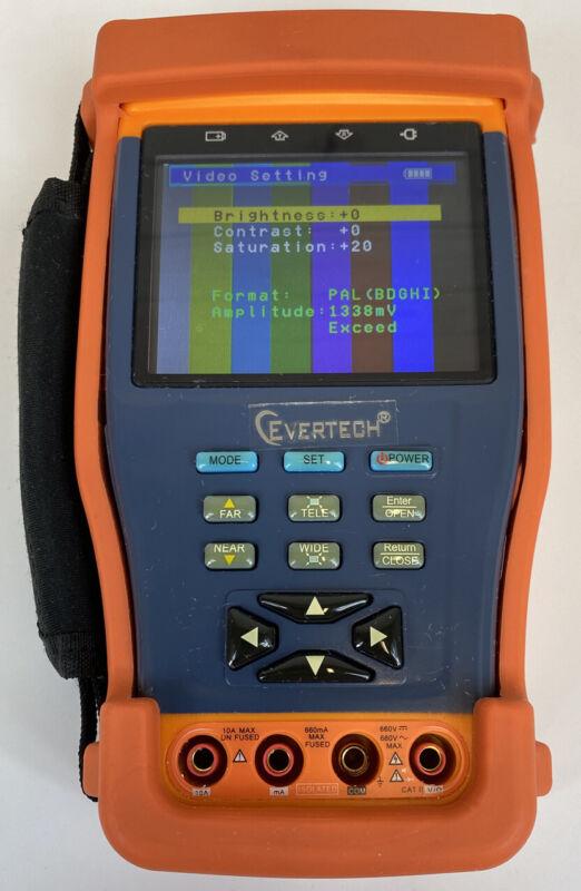 Evertech CCTV TesterPro Model EV-TESTER35M-AHD Security Camera Feeds TESTED