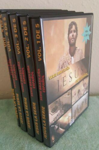 JESUS - Serie Brazileña  26 Dvds - Audio Español - COMPLETA 181 EPISODIOS