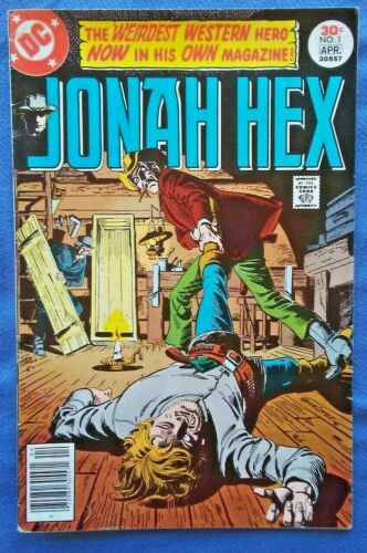 JONAH HEX #1, 1977 1st Series FN-