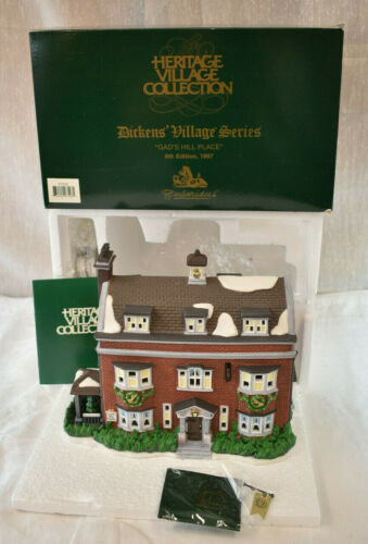 Dept 56 Dickens Village Series Gad