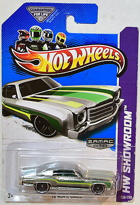 HOT WHEELS 2013 HW SHOWROOM - MUSCLE MANIA '70 MONTE CARLO ZAMAC