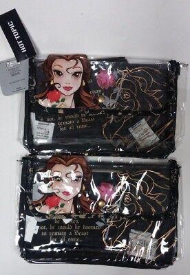 2 Pack Beauty and the Beast 2 Piece Makeup Bag - Shrek Makeup