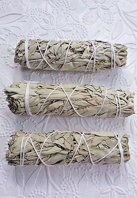 California Sage Smudge Sticks 4 Inches Protection Remove Negativity You Get 3