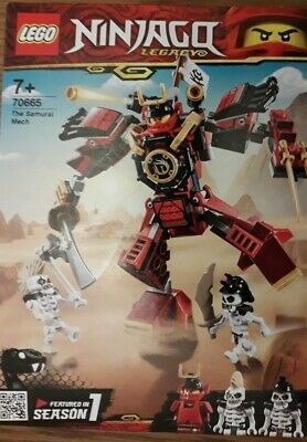 Lego Ninjago Legacy The Samurai Mech (70665)
