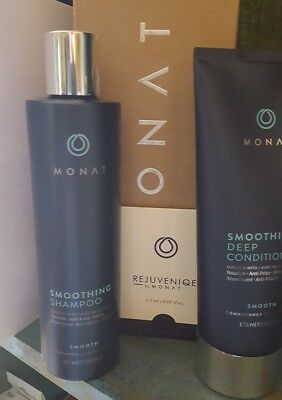 2 Kit Monat Only For You Smoothing Shampoo And Deep Conditioner New Monet   Gift