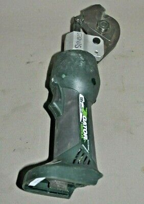 Greenlee Gator Es20l Battery Hydraulic Acsr Guy Wire Cutter Parts Or Repair Only