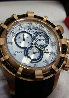 Invicta Reserve 15776 50mm Bolt Swiss Made Chronograph Day Date Men's Watch