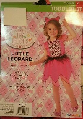 Child Toddler and Kids Little Leopard Girls Costume - Cat Costumes 2T Halloween - Leopard Costume Kids