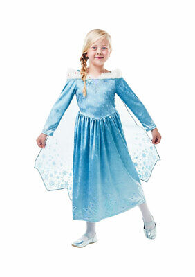Rubies Elsa Frozen Kostüm Mädchen Abenteuer Deluxe Fasching Karneval Halloween