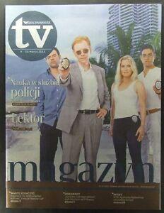 CSI Miami DAVID CARUSO ELIZABETH BERKLEY ADAM RODRIGUEZ mag.FRONT Gary Sinice - europe, Polska - Zwroty są przyjmowane - europe, Polska