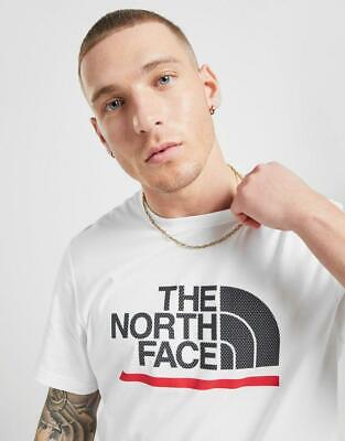 New The North Face Men's Large Raised Logo T-Shirt