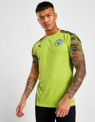 New Puma Manchester City FC Short Sleeve Training Shirt